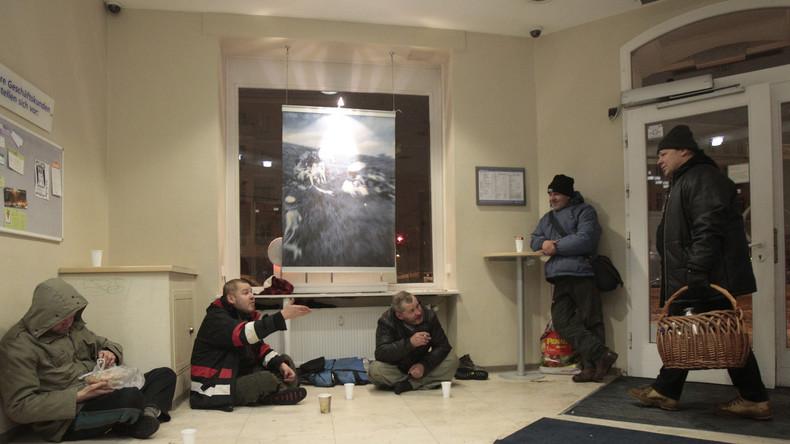 Freiwillige gesucht! Berlin will erstmals Obdachlose zählen lassen