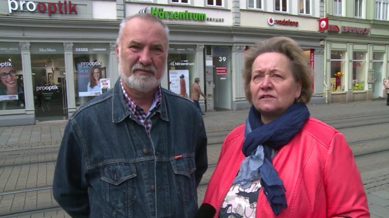 """Thüringen: """"Die CDU hört ihren Wählern ja nicht mehr zu"""" – Erfurter reagieren auf Wahlergebnisse"""