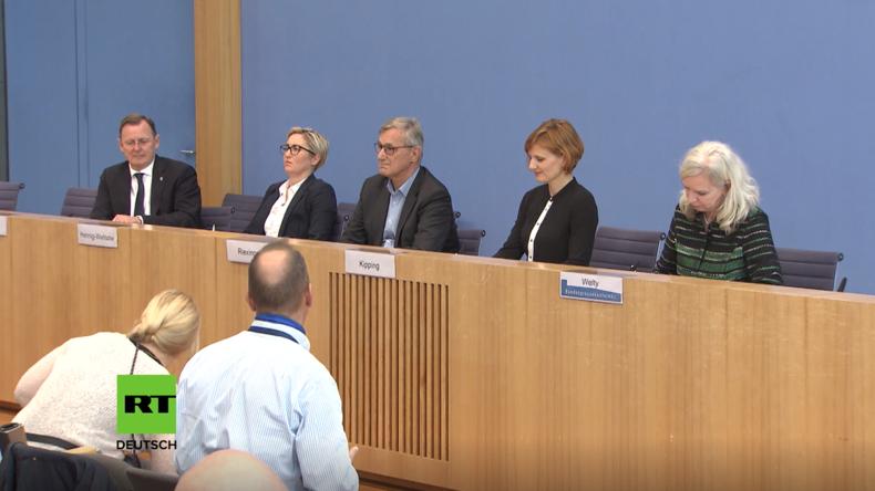Bodo Ramelow in der Bundespressekonferenz: AfD ist keine demokratische Partei