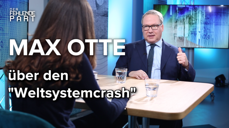 """""""Deutschland steht nicht gut da"""" – Privatinvestor Max Otte im Gespräch"""