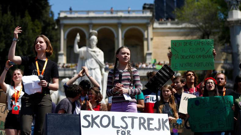 """Zweifel an Greta bald verboten? Italienische Aktivisten fordern Zensur gegen """"Klima-Leugner"""""""