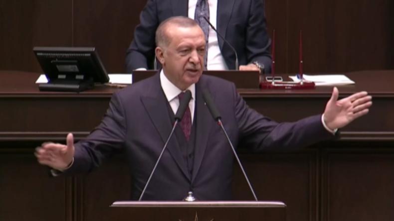"""Erdoğan: """"Werden jeden Terroristen zerstören und bei Bedarf unsere Sicherheitszone erweitern"""""""