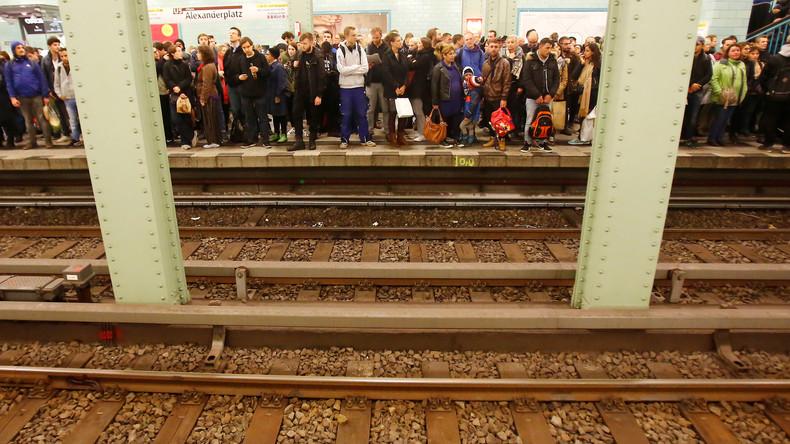 """Tödlicher Stoß vor U-Bahn: 2019 gab es in Berlin bereits 85 """"Personen im Gleis"""""""