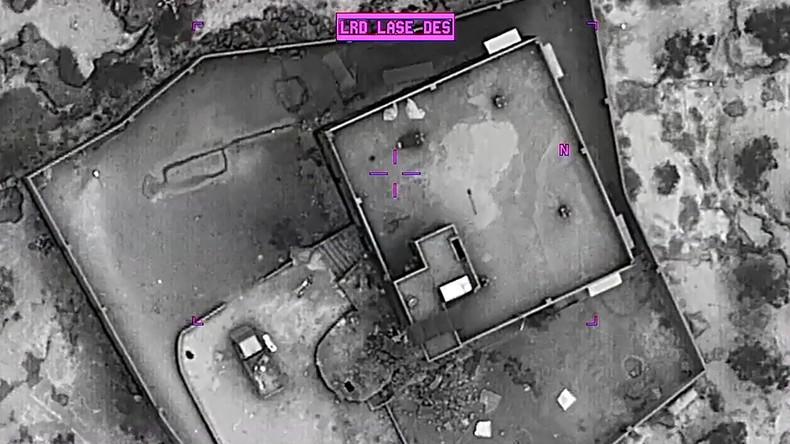 Pentagon-Videos zeigen mutmaßlichen Angriff auf IS-Anführer Baghdadi (Video)