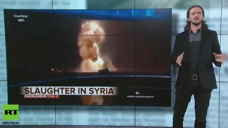 US-Satiriker Lee Camp: Syrien und die Lügen der US-Konzernmedien (Video)
