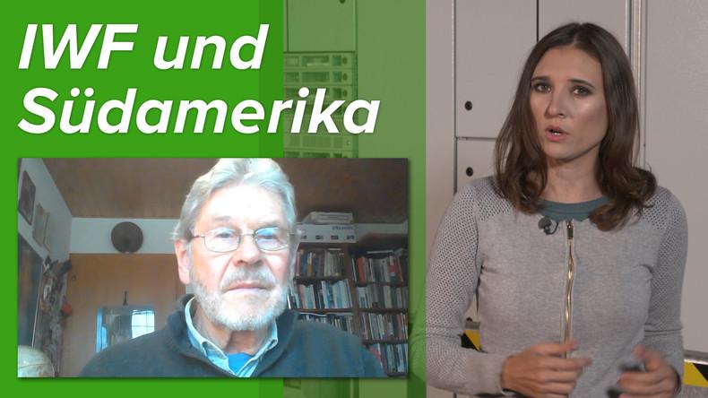"""""""Der IWF ist ein Kriegsinstrument der USA"""" – Ökonom Peter König zu Protesten in Südamerika (Video)"""