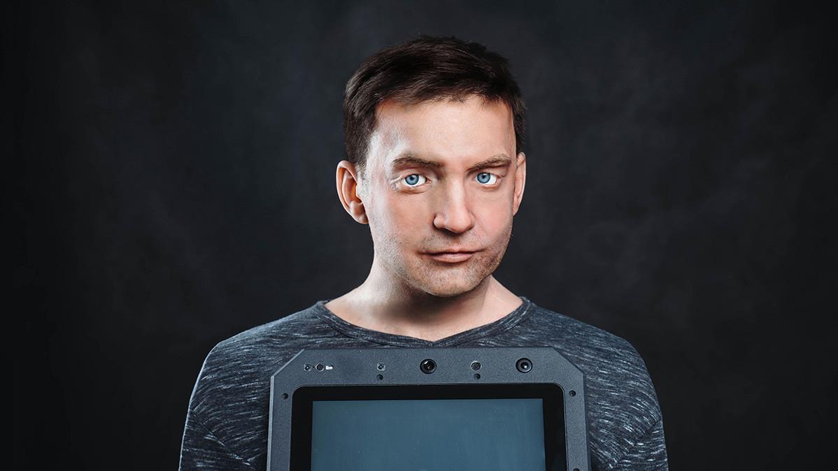 """Etwas gruselig und """"made in Russia"""" – Humanoider Roboter mit menschlicher Mimik geht in Serie"""