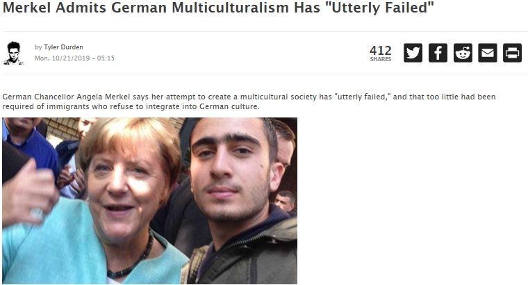 Wie Merkel Multikulti für gescheitert erklärte – vor neun Jahren
