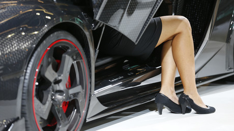 Symbolbild: Lamborghini, Automesse in Frankfurt am Main, 10. September 2013