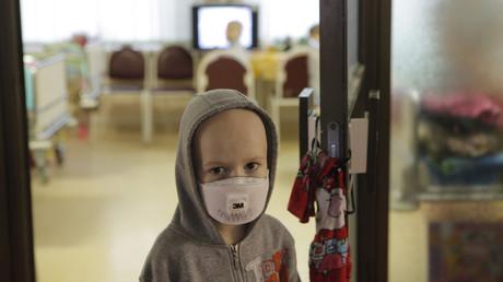 Ein Archivbild aus der Blochin-Krebsklinik in Moskau, 29.10.2009