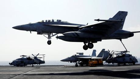 Das F/A-18-Kampfflugzeug der U.S. Navy von Boeing – ab 2025 auch für Deutschland im Einsatz?