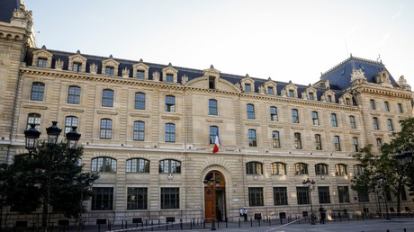 Die Pariser Präfektur am 3. Oktober 2019