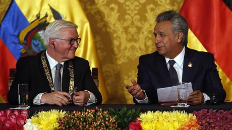 Ecuadors Staatschef Lenín Moreno sagt wegen Protestwelle Deutschlandbesuch ab (Archivbild)
