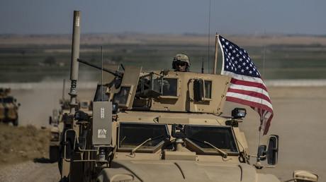 US-Patrouille im kurdisch-syrischen Tal Abyad