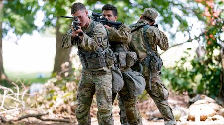 Symbolbild: US-Soldaten beim Training, Fort Campbell, Kentucky, USA, 25. Juli 2019