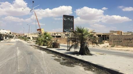 Die vom Krieg gezeichnete Stadt Chan Schaichun in der Provinz Idlib.