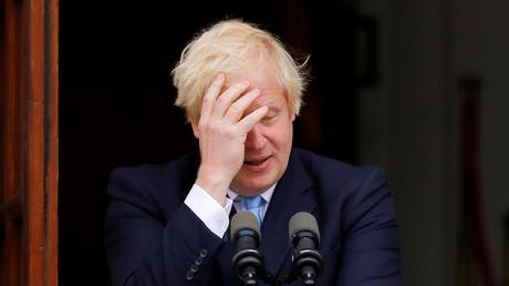 Der britische Premierminister Boris Johnson, Dublin, Irland, 9. September 2019.