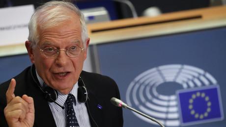 Josep Borrell bei seiner Anhörung als künftiger