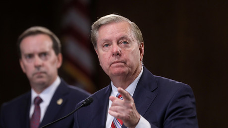 US-Senator Lindsey Graham, Washington, USA, 15. Mai 2019.