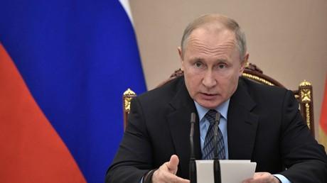 Der russische Präsident Wladimir Putin plädiert für den Abzug aller ausländischen Streitkräfte aus Syrien.
