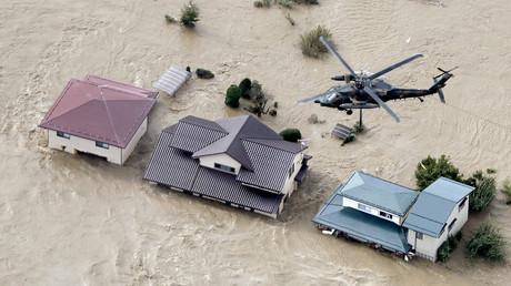Mindestens 26 Tote durch Taifun in Japan