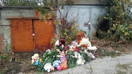 Die neunjährige Lisa wurde in diesem Garagenviertel erwürgt