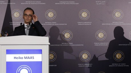 Symbolbild: Der deutsche Außenminister Heiko Maas bei einer Pressekonferenz in Ankara, Türkei, 5. September 2018.
