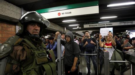 Ausnahmezustand nach Unruhen wegen Fahrpreiserhöhungen in Santiago de Chile
