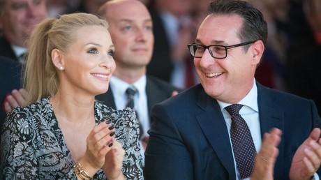 Philippa und Heinz Christian Strache