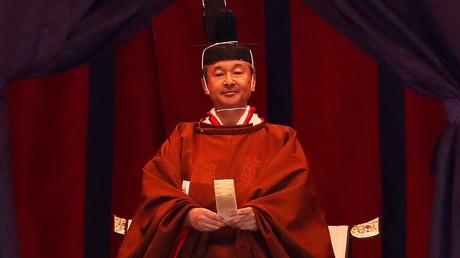 Japans neuer Kaiser Naruhito.