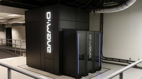 Symbolbild: Quantenrechner D-Wave 2X im Ames Research Center der NASA in Mountain View, Kalifornien, USA, 8. Dezember 2015.