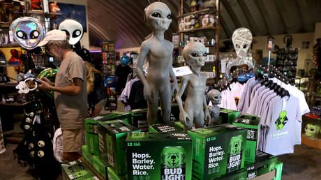 Alien Research Center in Hiko, Nevada, USA, 19. September 2019.