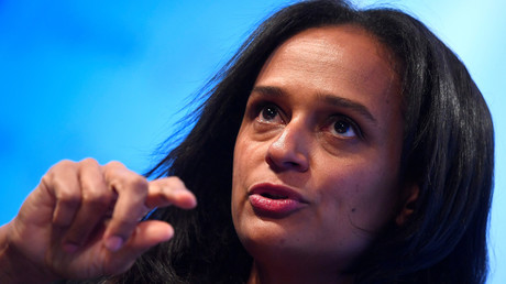 (Archivbild) Isabel dos Santos in London, Großbritannien, 18. Oktober 2017.