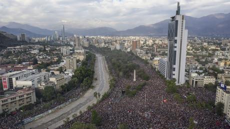 Millionen-Kundgebung in Chile für soziale Reformen