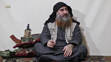 Eines der wenigen Bilder von Abu Bakr al-Bagdadi.