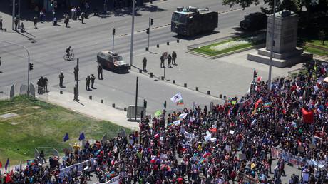 Militär gegen Zivilisten: Die Lage in Chile bleibt angespannt (Santiago de Chile, 30. Oktober 2019)