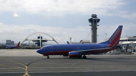 Eine Boeing 737NG der Southwest Airlines (Symbolbild)