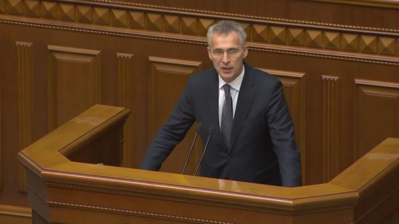 Stoltenberg: Tür zur NATO-Mitgliedschaft für die Ukraine bleibt offen