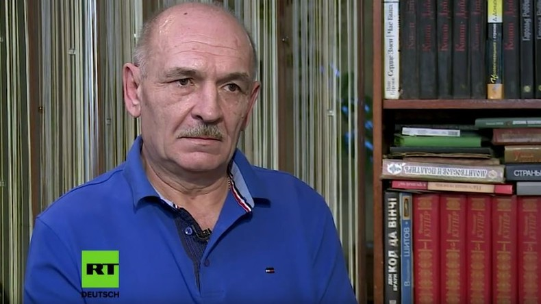 Befehlshaber der Donezker Luftverteidigung bei Sneschnoje 2014: Hatten nur zwei Flak