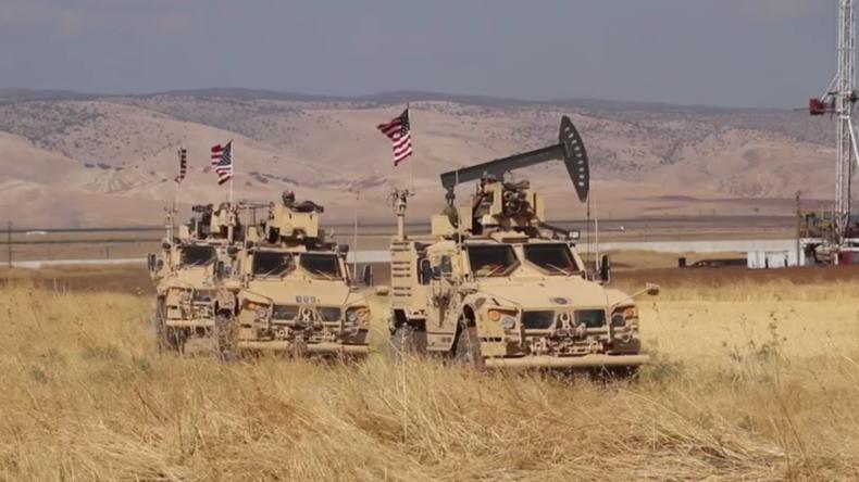 Syrien: US-Truppen und YPG-Kämpfer bei Ölfeldern im Nordosten Syriens gesichtet
