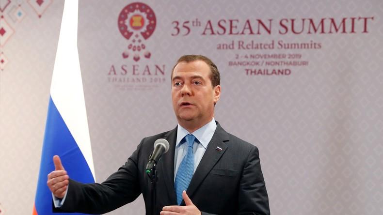 Russischer Premier: EAWU offen für Freihandelsabkommen mit asiatischen Ländern
