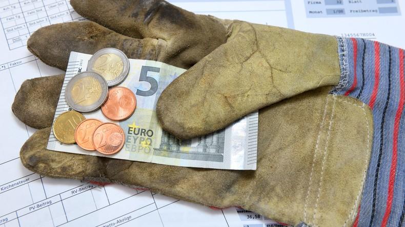 Nicht unter zwölf Euro: Grüne fordern Erhöhung des Mindestlohns