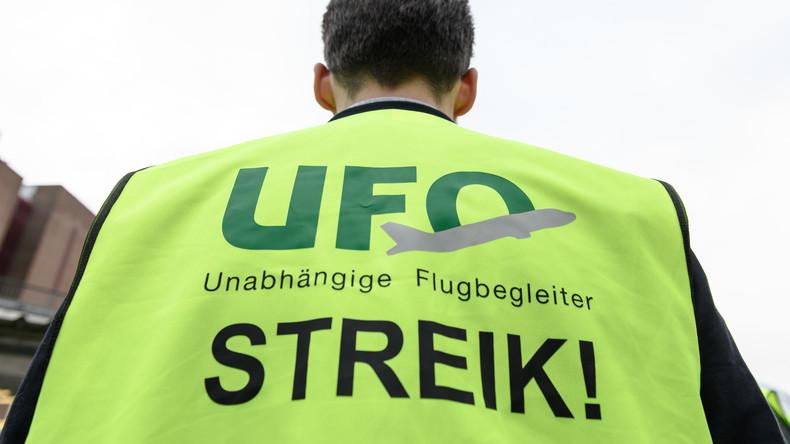 Lufthansa: Gewerkschaft Ufo kündigt Streiks für Donnerstag und Freitag an