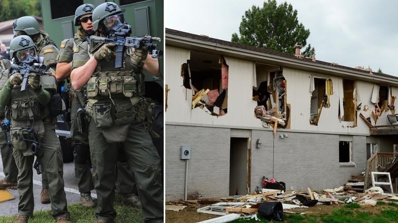 USA: Bei Polizeieinsatz gegen Kaufhausdieb komplettes Wohnhaus zerstört – keine Entschädigung