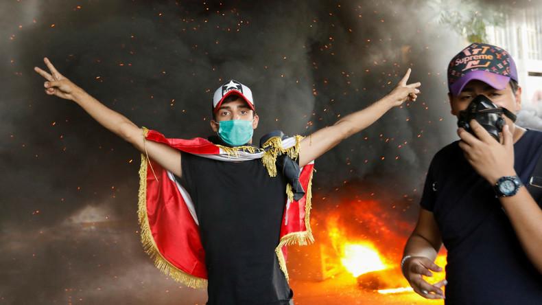 Eskalation der Proteste im Irak – Polizei setzt scharfe Munition ein
