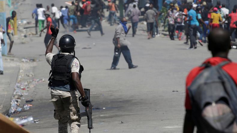 Massenproteste in Haiti: Worum es der Bevölkerung wirklich geht (Video)