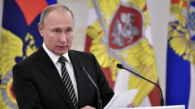Wladimir Putin: 39 Terroranschläge seit Jahresbeginn in Russland vereitelt