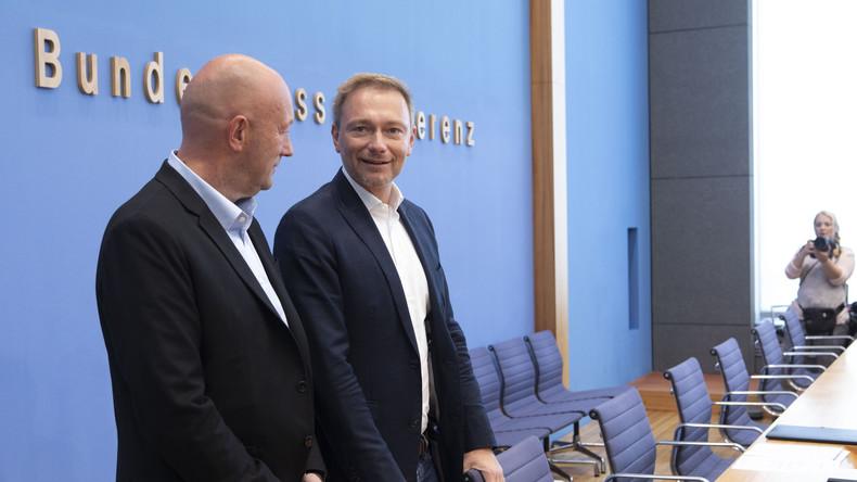 Ende der  Zitterpartie: FDP schafft Einzug in Thüringer Landtag