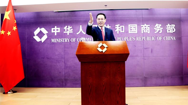 Chinas Handelsministerium: Bauen gegenseitige Strafzölle mit den USA phasenweise ab
