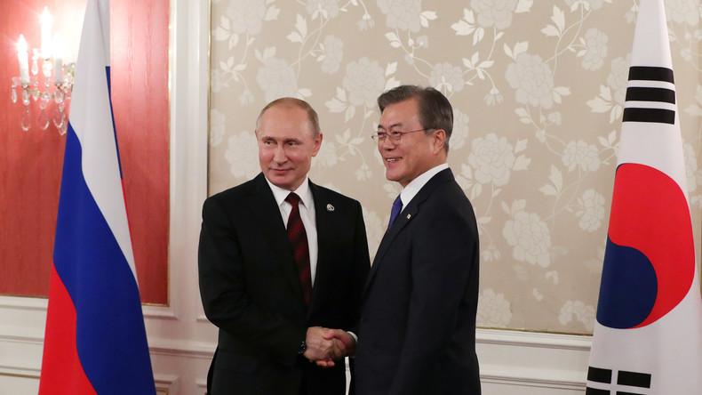 Südkorea will Handel mit Russland im nächsten Jahr auf 30 Milliarden US-Dollar steigern